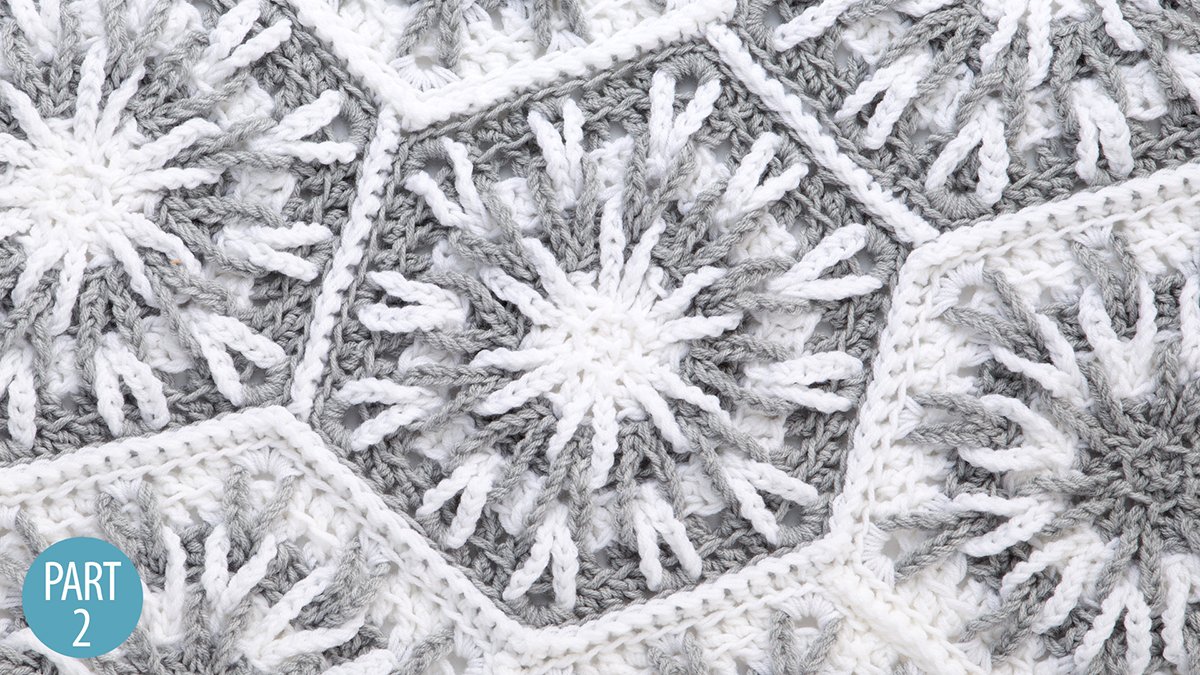 Snowy Evening Afghan: Part 2 video