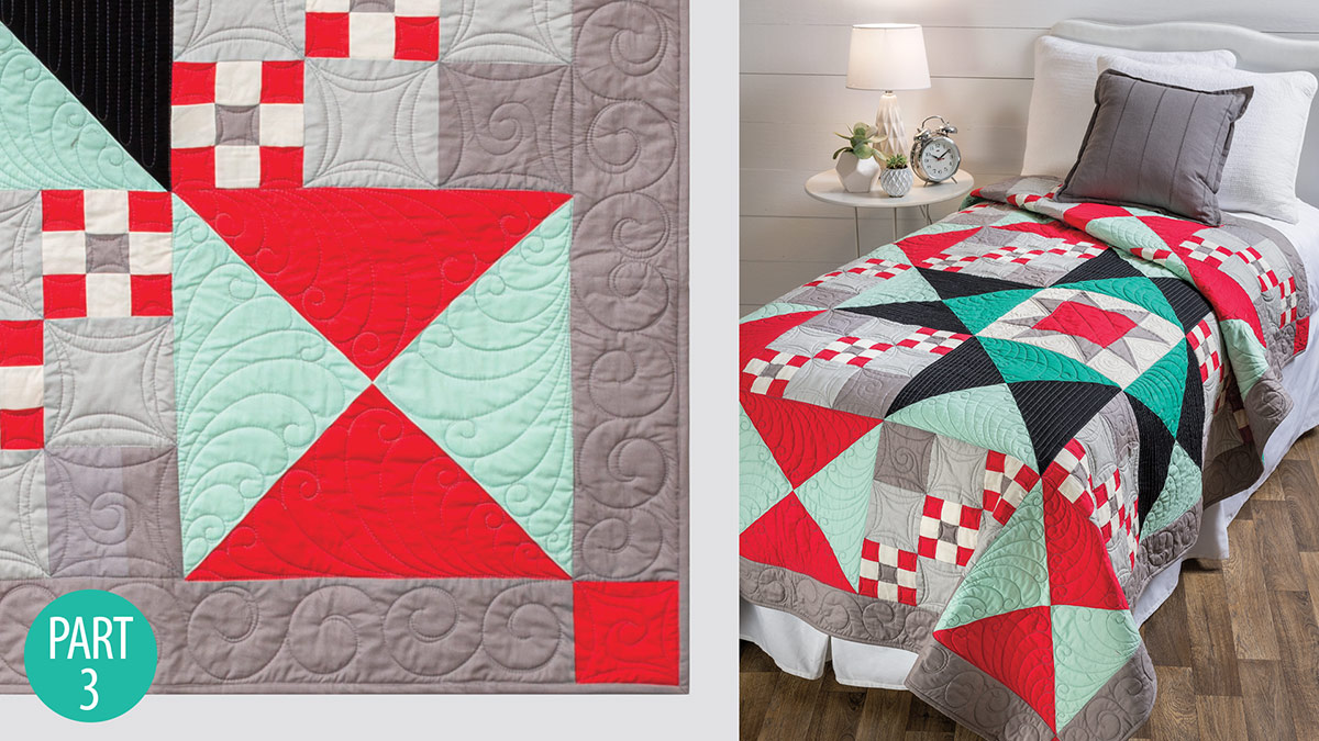 Simple Traditions Quilt: Part 3 video