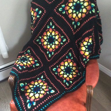 Stained Glass Afghan: Part 7