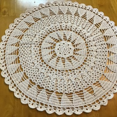 Christmas Trees Doilies: Part 3