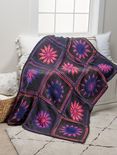 Gothic Rose Afghan: Part 2