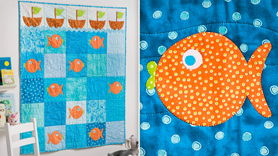 Come Sail Away Baby Quilt