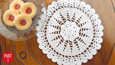 Christmas Trees Doilies: Part 1